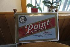 Point Special Beer,Stevens Point Brewery,Stevens Point Wis.beer advertising sign