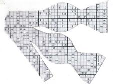 Sudoku Game Bow Tie / Black & White / Puzzle Game / Math Game / Self-tie Bow tie