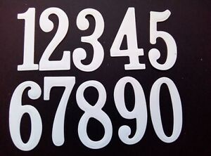 Large Numbers Die Set metal cutting die cutter 10 number set UK Seller Fast Post