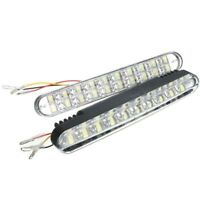 2x 30 Led DRL Super bright DC 12V car day driving light turn signal lamp sp K5K1