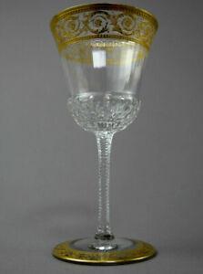 14,2 cm Saint St Weinglas Nr 4 Thistle gold H Louis 13 Gläser im Angebot