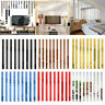 10Pcs/set Mirror Wall Sticker Smooth Stripe Rectangle Homr Bathroom Decoration