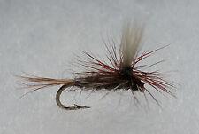 1 Dozen (12) Adam's Parachute Size 14 Dry Flies from USA