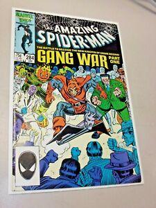 Amazing Spider-man #284 Gang War Part 1 Key NM Hobgoblin Punisher Kingpin Marvel