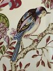 VERVAIN-'Buchoz Floral'- retired pattern memo-17' x17'- beautiful bird & color