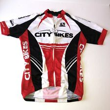 Mens Cycling Team Jerseys Bike Racing Tops Shirt S/S Bicycle Pockets Made Italy