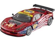 1:18 Hot Wheels Elite - Ferrari 458 Italia GT2 # 61 Lm 2012 Af Corse Sebring