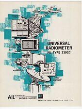 """Old Sales Brochure: """"Universal Radiometer - AIL Type 2392C"""""""