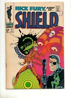 Nick Fury, Agent of SHIELD #5 STERANKO CLASSIC COVER 1968, MARVEL!