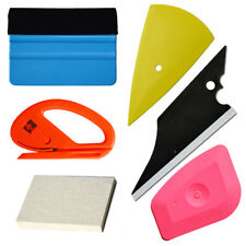 Car Wrapping Apply  Vinyl Tool Kit Felt Squeegee Snitty Cutter 6 pieces tool