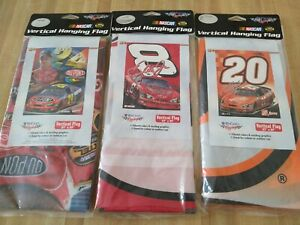 Nascar Vertical Hanging Flag Lot