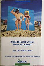 Instruction Book For Nokia 3410