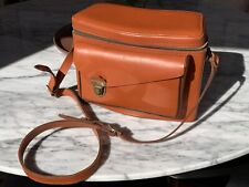 Perrin California vintage whiskey fine leather pl-3 camera bag