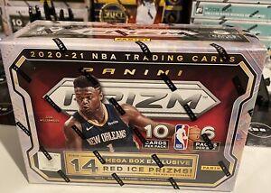 Panini Prizm Basketball Mega Box - 60 Cards (6 Packs, 10 Cards per Pack)