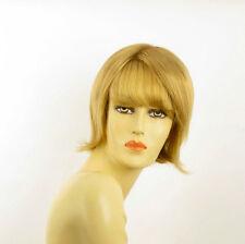 Perruque femme courte blond doré VALERIA 24B