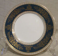 Wedgwood Columbia Blue & Gold R4509 Bread Plate
