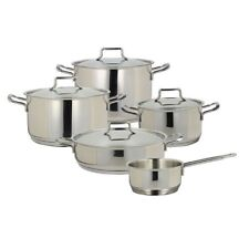 Batteria di pentole 9 pz Vanitosa Tognana acciaio inox induzione forno - Rotex