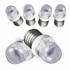Lots Small LED Screw Base Indicator Bulb Automobile Instrument Lamp Illumination