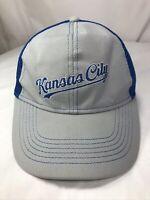 Kansas City Royals baseball Hat BC Blue Crew adjustable Great Used Condition
