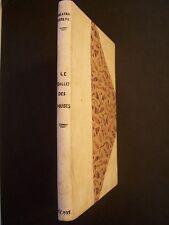 """Tristan Derème """"Le Ballet des Muses"""" / Emile-Paul - EO - 1928  (relié demi-cuir)"""