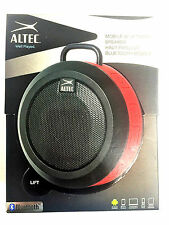 Altec Lansing iMW355 Orbit Wireless Bluetooth Mobile Speaker & Speakerphone -Red
