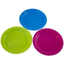 12 x Teller Plastikteller Kunststoffteller Plastikgeschirr Campinggeschirr