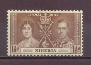 Nigeria, Coronation of King George VI, MH, 1937, OLD