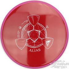 New Red Neutron Alias Stable Gyroscopic Midrange 175g Axiom Disc Golf Pink Ring