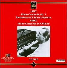 György Cziffra, piano, New Music