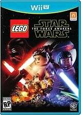 LEGO Star Wars: The Force Awakens (Nintendo Wii U, 2016) BRAND NEW