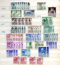 Briefmarkensammlung Österreich 1953 1955 1957 1958 + Geschenk ansehen stamps