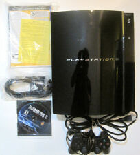 Sony PlayStation 3 60GB Console CECHA01 Backwards Compatible Plays PS1 PS2 & PS3