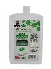 Pure Vegetable Glycerine B.P Eternal Beauty 250ml New Packaging