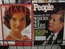 PEOPLE MAGAZINE TIME & NEWSWEEK LOT OF 4 TRIBUTE TO JACKIE O & THE KENNEDYS
