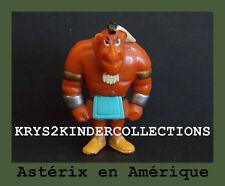 Jouet kinder Astérix en Amérique Indien costaud France 1997 / 1998