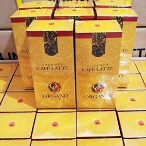 ( 10 Boxes ) Organo Gold Gourmet Cafe Latte Ganoderma Coffee 20 Sachets EXPRESS