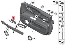 Genuine Front Interior RIGHT Door Handle BMW 7 Series F01 F02 F04 2008 2015 Fits 750i XDrive