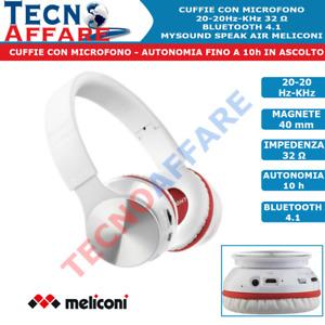 Cuffie Bluetooth con microfono 4.1 Meliconi My Sound Speak Air