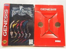 Mighty Morphin Power Rangers The Movie (SEGA Genesis) Authentic BOX ONLY!