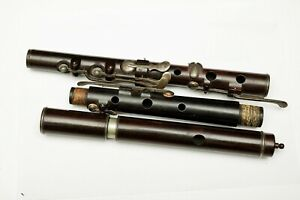 Antique English Flute stamped Metzler & Co LONDON