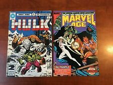 Incredible Hulk 271 French reprint! First Rocket Raccoon - Rare! + Marvel Age 25