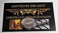 NEW Cobra MCS 2 Certified 1/10th Oz 999.0 Pure Silver Bullion Coin