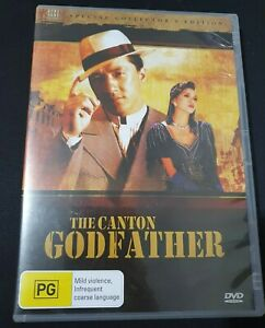 The Canton Godfather DVD Region 4 | Hong Kong Legends Special Edition | VGC