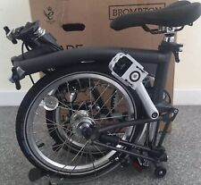 BNIB 2020 GRAPHITE BROMPTON M3L 3 Speed FOLD BIKE Worldwide🌎 📦📮P&P