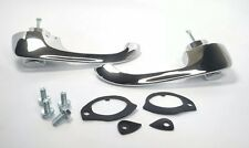 Chrome Outside Door Handle Kit, GM X-Body Exterior Handle Set (Pair w/ Gaskets)
