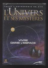 NEUF DVD VIVRE DANS L ESPACE   L UNIVERS ET SES MYSTÈRES N°39   ASTRONOMIE