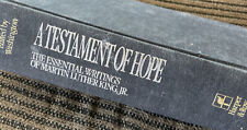 A testament of hope: essential writings of Martin Luther King Jr First Edition