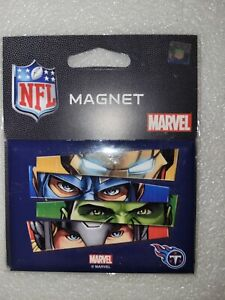 "NIP Wincraft Marvel Comics Avengers Tennessee Titans Fridge Magnet 2.5"" x 3.5"""