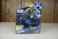 Star Wars The Clone Wars Weapons Factory Anakin and Super Battle Droid. NIB