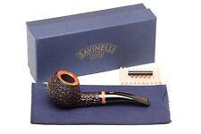 Savinelli Porto Cervo Rustic 673 KS Tobacco Pipe